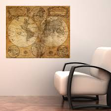World Map Decal by Mappemonde World Map Decal Walls Need Love Touch Of Modern