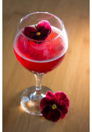 pink lady cocktail our ten favorite floral cocktail recipes proflowers blog