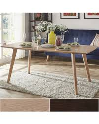 Modern Oak Dining Tables Deal On Abelone Scandinavian Dining Table By Inspire Q Modern