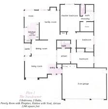 simi valley indian hill ridge tract floor plans simi valley indian hills ridge plan 1 floor plans