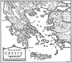 blank map of ancient greece the gassy gnoll strange musical trip to a religious war