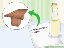 How To Protect Outdoor Wood Furniture by 3 Ways To Waterproof Wood Wikihow