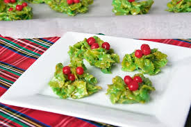 holly cookies recipe christmas cookies marshmallow and