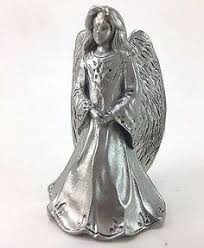 seagull pewter herald angel christmas tree ornament angel pugwash