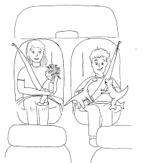 belt coloring page