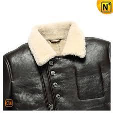 winter biker jacket mens winter sheepskin biker jacket cw856163