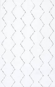 Handmade Moroccan Rugs Nuloom Handmade Moroccan Trellis Striped Rug Contemporary Area