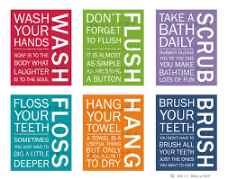 kids bathroom wall art bathroom rules bathroom prints wash brush