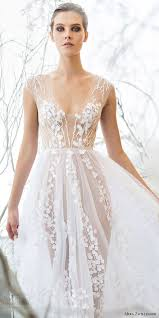 ethereal wedding dress picture of ethereal blossom wedding dress with illusion parts