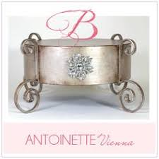 antoinette flirty fleur cake stand by nola b fabulous wedding