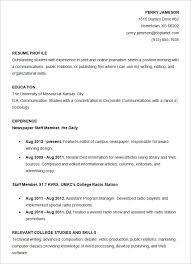 Examples Of Resume For College Students by College Graduate Resume Template Resume For High Students