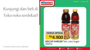 Teh Pucuk Harum Di Alfamart iklan teh kecup harum