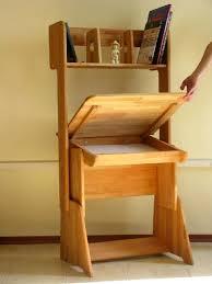 Wooden Student Desk Student Desks Improving Functionality Of Modern Kids Room Design