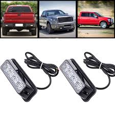 12v led light bar high quality 4 led car emergency beacon light bar 12 flashing mode