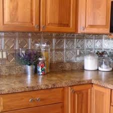 Tin Backsplash Make A Splash Old House Web - Tin backsplash