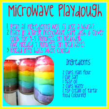 printable playdough recipes justfordaisy microwave playdough recipe