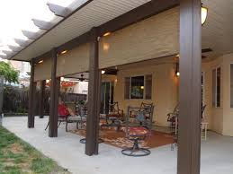 decorating decorative alumawood patio covers in white for home