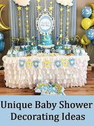 baby shower decorating ideas how to find unique baby shower decorating ideas baby shower