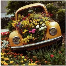 Planters On Wheels by Planters On Wheels That Will Make Your Yard More Fun