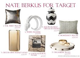 decor thoughts nate berkus for target