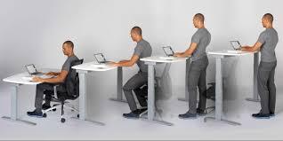 Sit Stand Desk Vancouver Standing Sitting Desks Adjustable Lv Condo