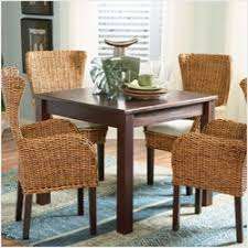 rattan kitchen furniture dinette sets indoor wicker dining sets