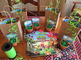 Plants Vs Zombies Decorations Plants Vs Zombies Party Favors Book Stickers To Decorate Pot