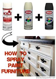 Ivory Painted Bedroom Furniture by How To Spray Paint Furniture Spray Painted Furniture Paint