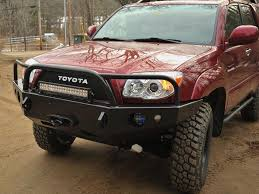 hunting truck ideas front winch mount bumper for 4th generation 4runner 2003 2009