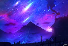 purple pictures purple sky by ryky on deviantart