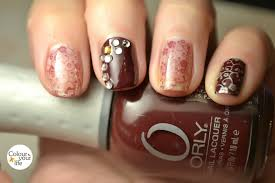 colour your life konad stamped nails