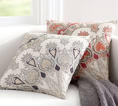 valencia paisley pillow cover pottery barn