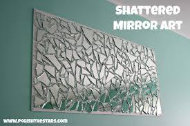 bedroom attractive wall art diy mirror home decor ideas