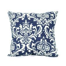 decorative pillows home goods shop majestic home goods navy blue french quarter large pillow at