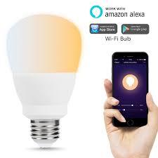 wifi enabled light bulb lohas smart light bulbs wifi bulb tunable white dimmable led warm