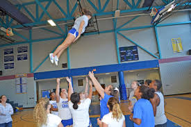 cheerleaders positioned well as they head into competition by