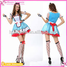 French Maid Halloween Costumes Wholesale French Latex French Maid Costume Buy French