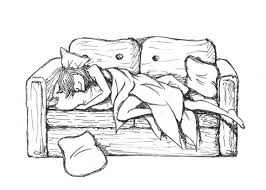 toad sleeping on his sofa by claw ravenscroft on deviantart