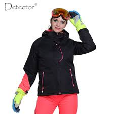 Detector Women Ski Jacket Outdoor Winter Ski Clothing Womens