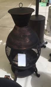 Bronze Cast Iron Chiminea Better Homes And Gardens Cast Iron Chiminea Antique Bronze Fire