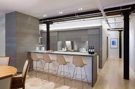 Loft Modern Meatpacking Loft Kitchen Modern Kitchen New York By Leone