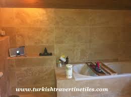 Bathroom Countertop Tile Ideas Astounding Travertine Bathroom Tile Photo Inspiration Tikspor