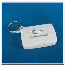 box keychain cheap plastic square mini pill box keychain buy pill box