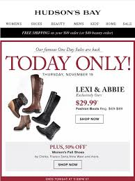 hudson bay s boots hudson s bay company today only 29 99 s boots 50