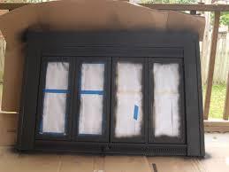 fireplace screen with glass doors best 20 brass fireplace makeover ideas on pinterest paint