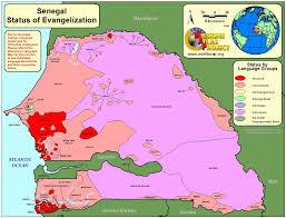 Dakar Senegal Map Maps Of Senegal Senegalventure