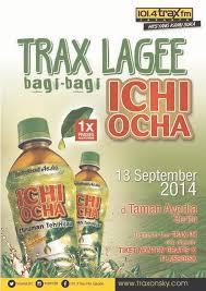 Teh Ichi Oca trax fm jakarta on traxlagee bagi bagi ichi ocha akan ke