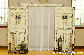 wedding backdrop doors wedding backdrop tutorial u create