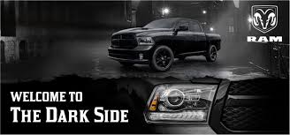 blacked out dodge truck ram 1500 coleman chrysler jeep dodge ram