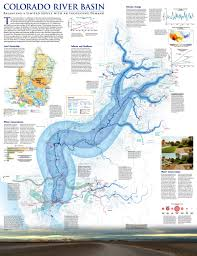Colorado River Map by National Geographic Maps Our Infographics Pinterest National